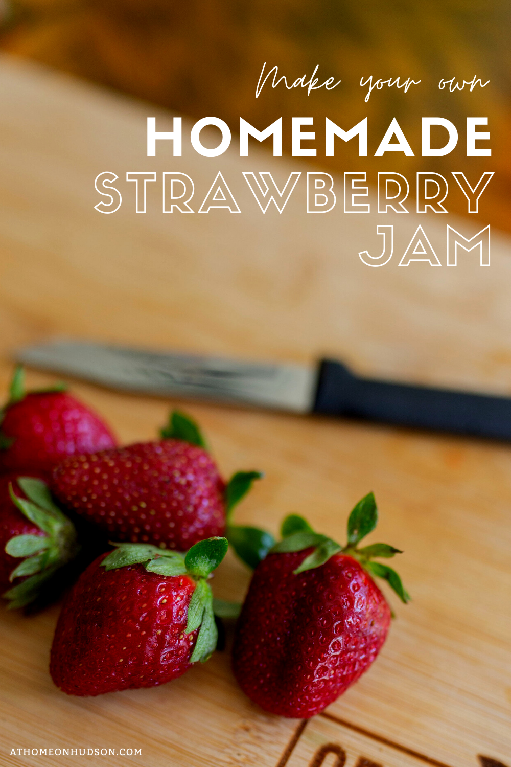 Want your to enjoy your fresh strawberries year round? Follow these easy steps on making your own homemade strawberry jam! #strawberryjam #canning #canningrecipe #surejell #jam