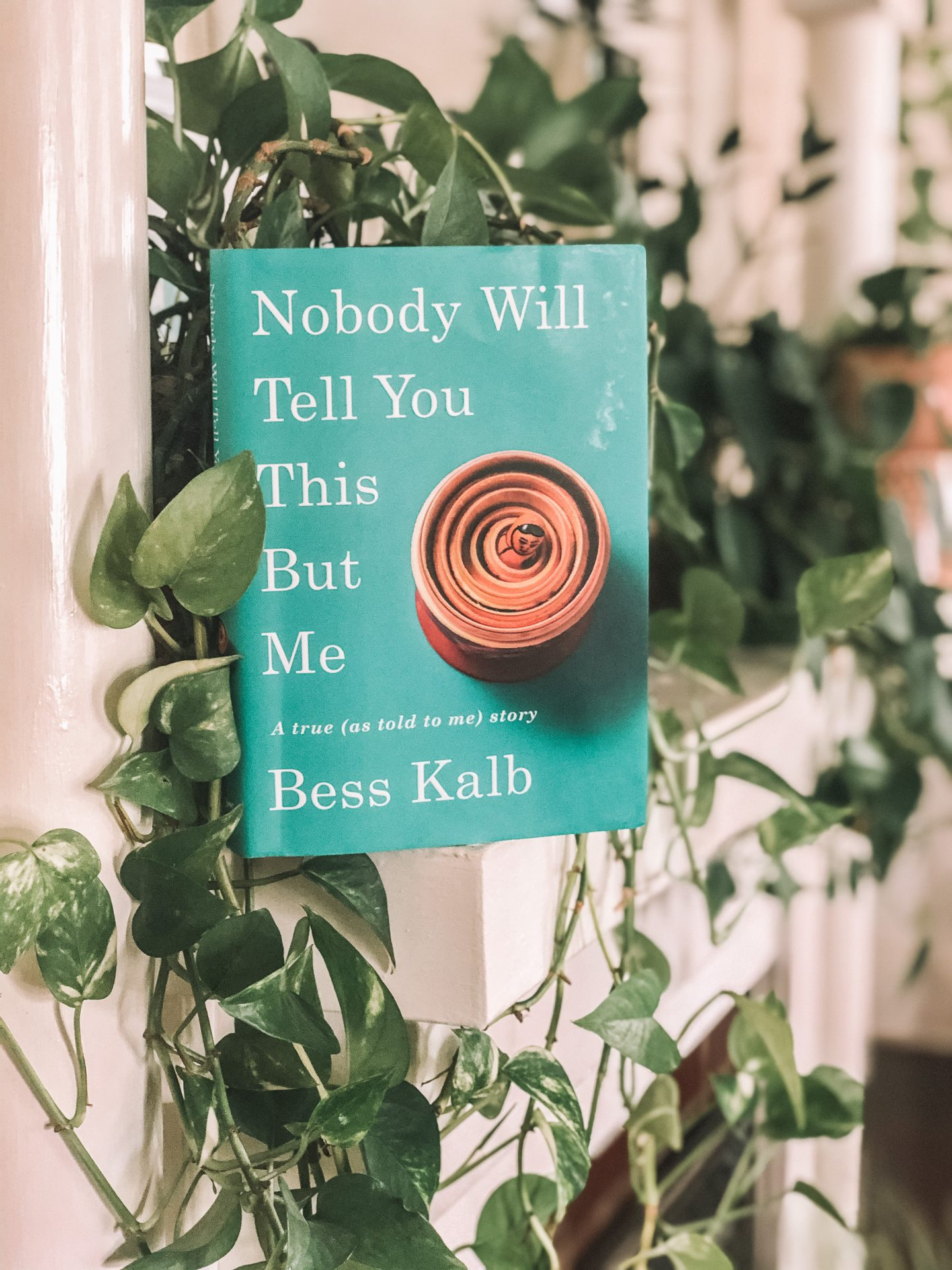 "Have you ever read a book that has devastated you to your soul, made you envious, and had you hysterically laughing all within 10 minutes? ""Nobody Will Tell You This but Me"" by Bess Kalb was this book. Easily my FAVORITE read of the year. This memoir-esque book full of voicemails, phone conversations, and memories was witty and had me sobbing with snot running but like in a good way. At its heart, the book is about a grandmother and granddaughter's relationship- the willingness to drop everything when needed, the well-intentioned but never asked for advice, and the love so clear and evident. It's a beautiful journey I never wanted to end. This book is perfect for those who had those relationships with their grandmothers or who didn't (like me)."